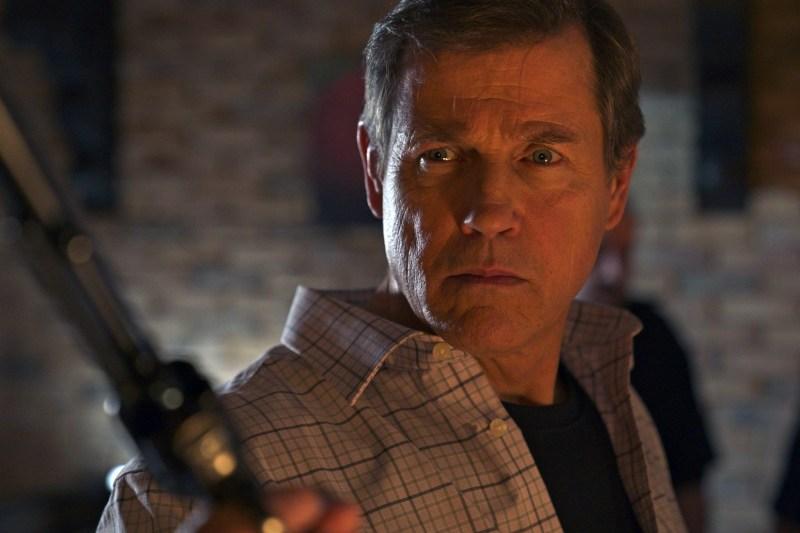 Michael Paré in 'Painkiller' (2021)