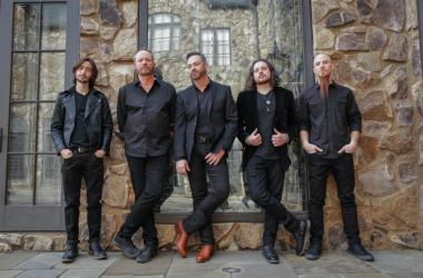 The CEO - L to R: Beau Anderson (Guitar), Vince Hornsby (Bass), Mack Mullins (Vocals), Chase Brown (Guitar), ?Joseph Herman (Drums)