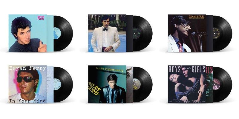 Bryan Ferry solo albums on vinyl