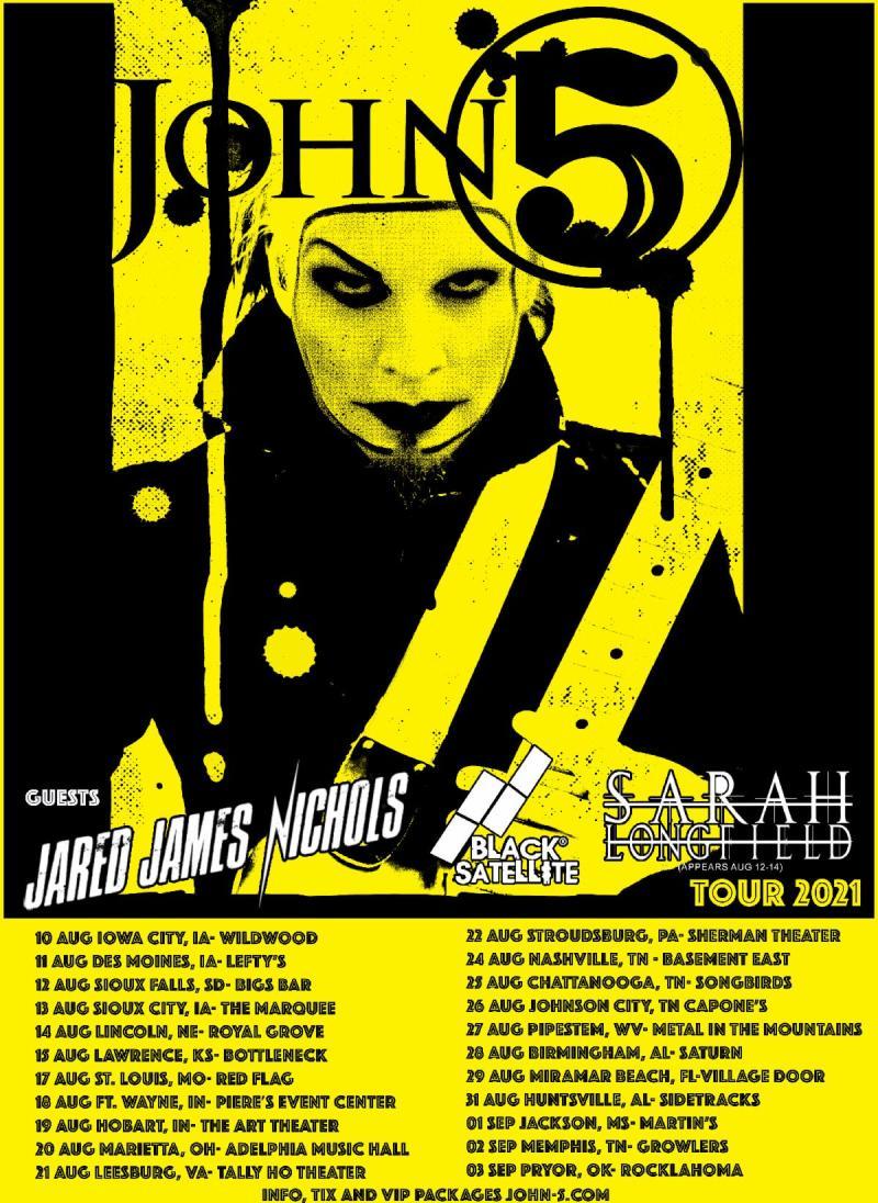 John 5 2021 Tour Dates