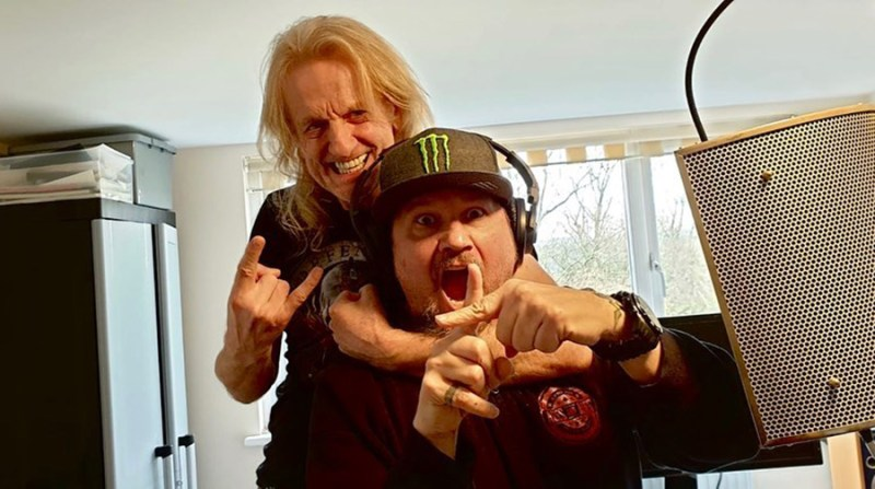 """KK Downing and Tim """"Ripper"""" Owens"""