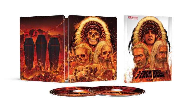 Rob Zombie's 3 From Hell 4k UHD Steelbook