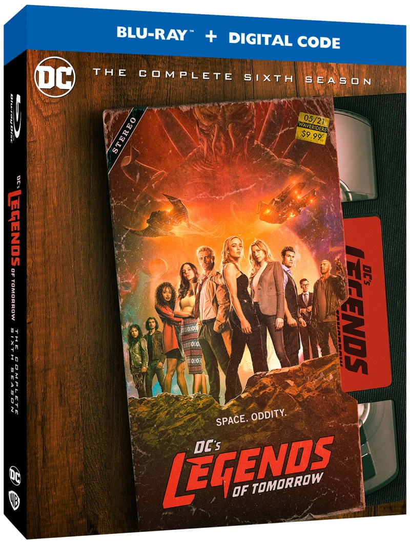 DC Legends of Tomorrow S6 BD Boxart1
