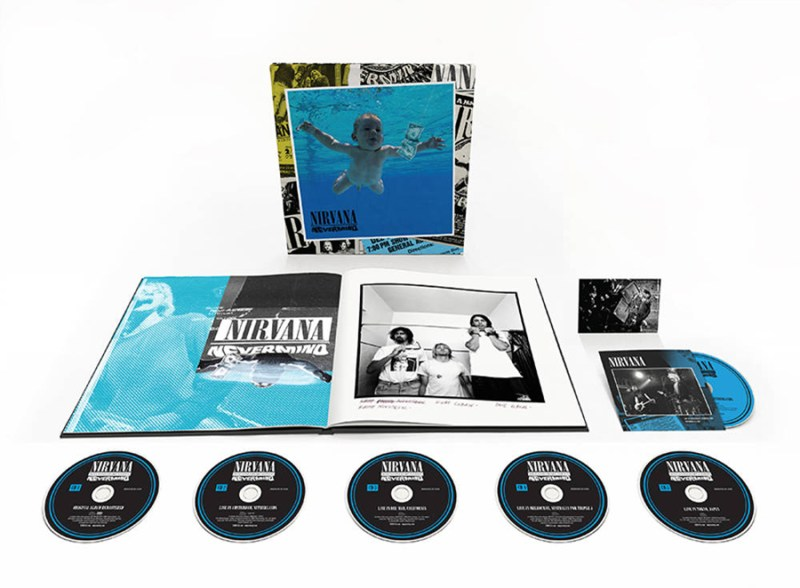 NIRVANA's 'Nevermind 30th Anniversary Editions' Set For November Release! -  Icon Vs. Icon
