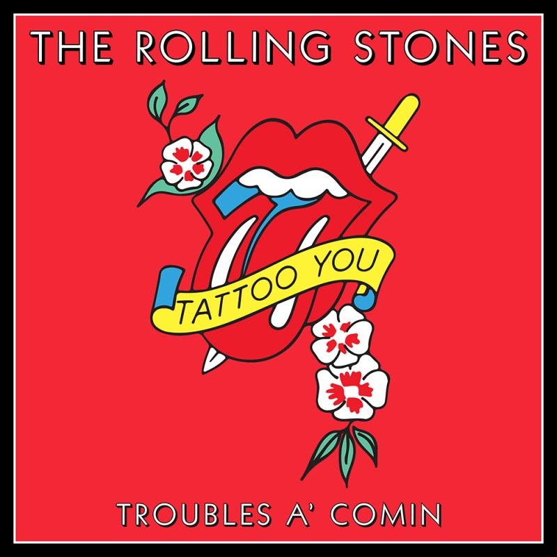 """The Rolling Stones' Previously Unheard Track """"Troubles A' Comin"""""""