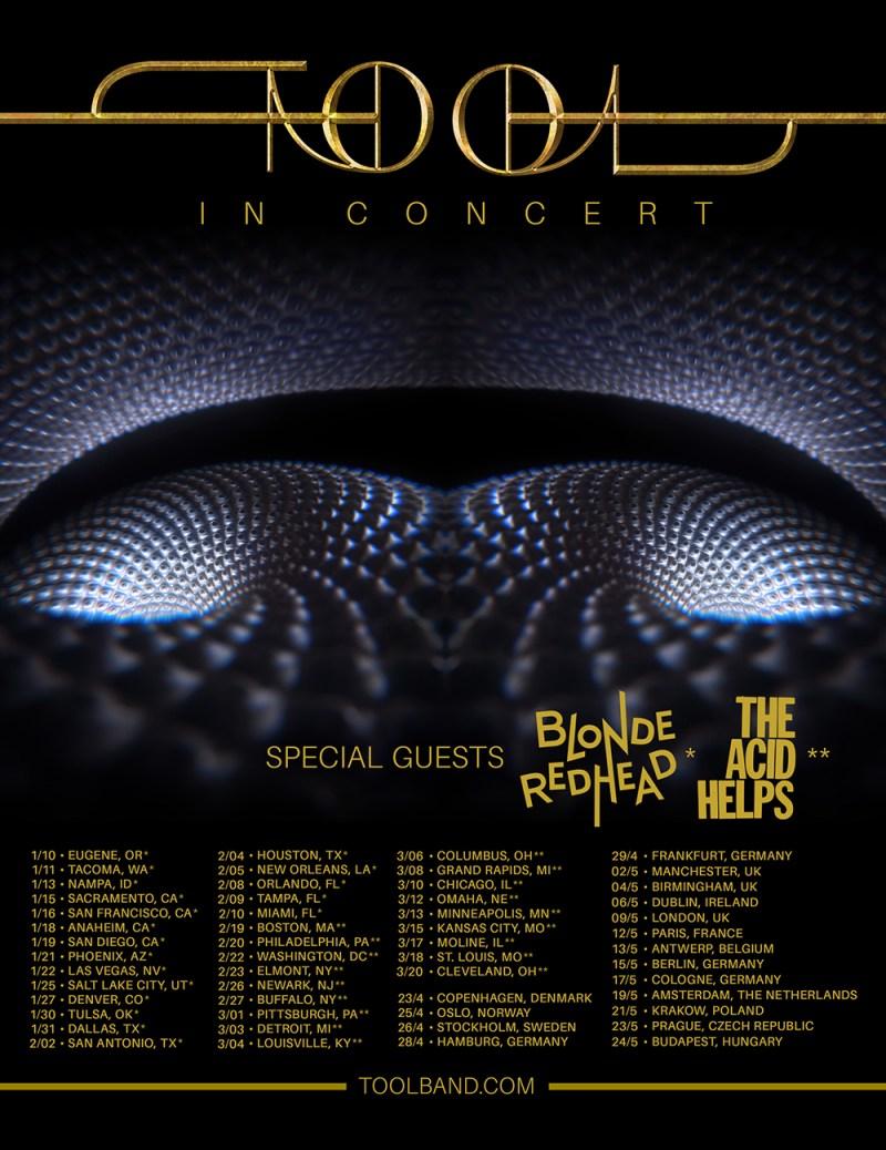 Tool 2022 Tour Dates