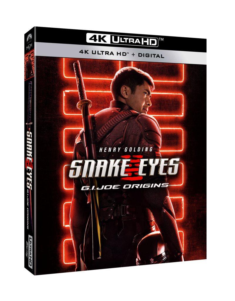 SNAKE EYES: G.I. JOE ORIGINS 4K Ultra HD