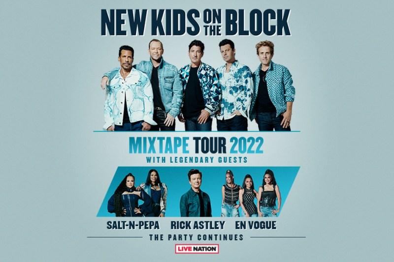 New Kids On The Block Mixtape Tour 2022
