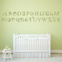Alphabet Wall Sticker Educational Wall Decal Art | eBay