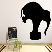 Circus Elephant Wall Sticker circus Wall Decal Art