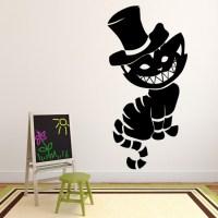 Cheshire Cat Wall Sticker Cartoon Wall Art