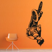 BMX Trick Wall Stickers Bike Wall Art