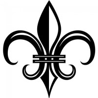 Medieval Fleur de Lis Wall Sticker Decorative Wall Art