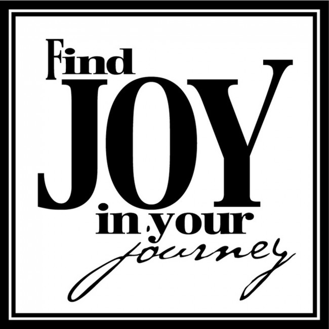Find Joy In Your Journey Life And Inspirational Quote Wall