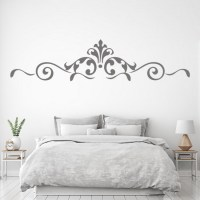Royal Floral Boarder Wall Sticker Decorative Wall Art