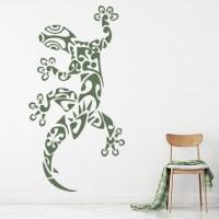Tribal Lizard Wall Stickers Animal Wall Art
