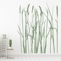 Long Grass Wall Sticker Nature Wall Art