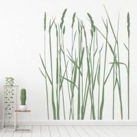 Long Grass Wall Sticker Nature Wall Art