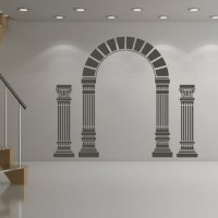 Arch And Columns Wall Sticker Greek Wall Art