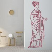 Greek Woman Wall Sticker Greek Wall Art