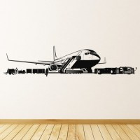 Airport Wall Sticker Airplane Wall Art