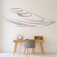 Speed Boat Wall Stickers Boat Wall Art
