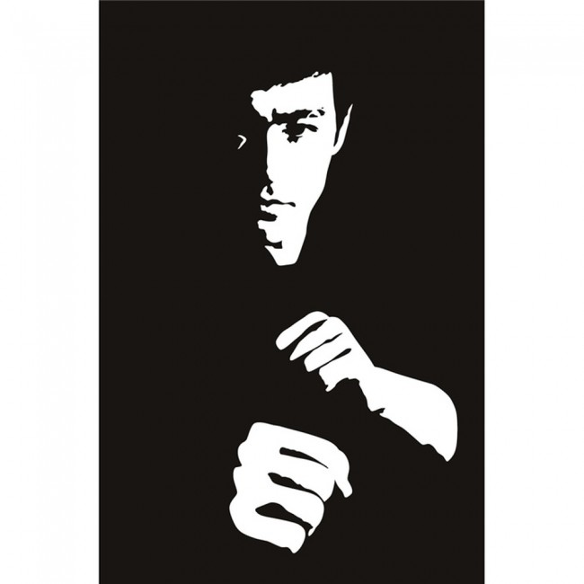Girls And Trucks Wallpaper Bruce Lee Wall Sticker Martial Arts Movies Wall Decal Icon