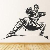 Karate Martial Arts Wall Sticker