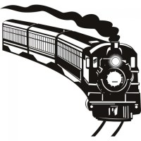 Steam Train Wall Sticker Transport Wall Decal Boys Bedroom ...