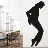Michael Jackson Wall Sticker Music Dance Wall Decal Icon ...