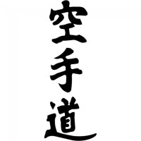 Kanji Karate Wall Sticker Chinese Symbol Wall Decal Kids ...