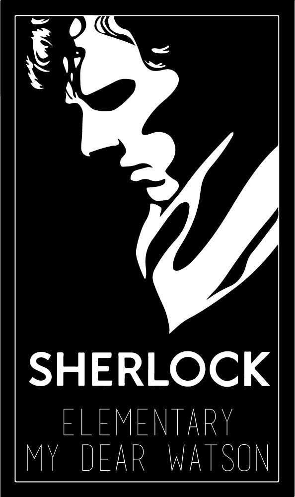 Vans Wallpaper For Girls My Dear Watson Wall Sticker Sherlock Holmes Quote Wall