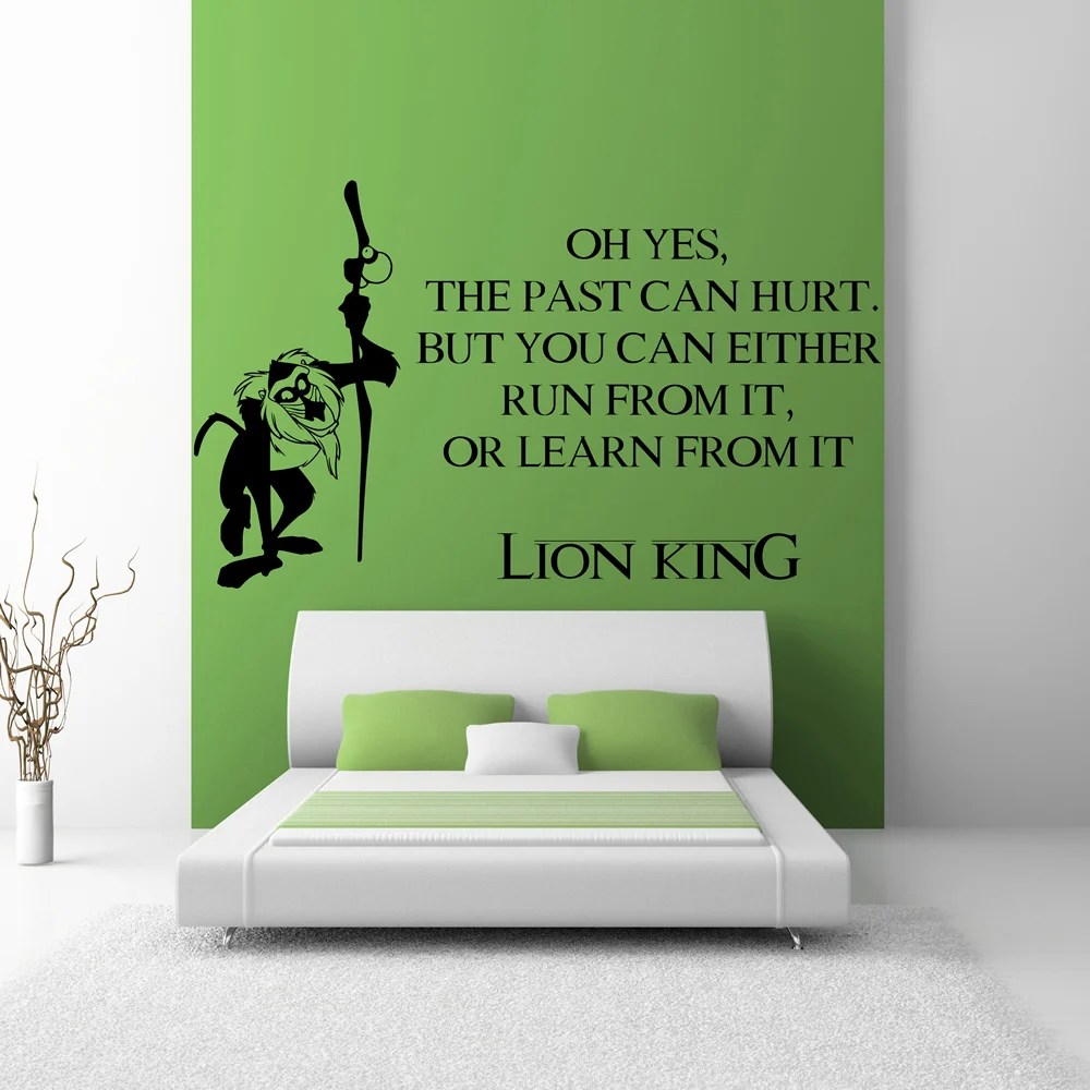 Vans Wallpaper For Girls Lion King Wall Sticker Movie Quote Wall Decal Kids Bedroom
