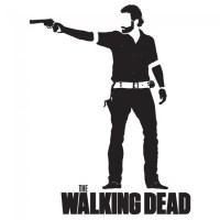 Rick Grimes Wall Sticker The Walking Dead Wall Art
