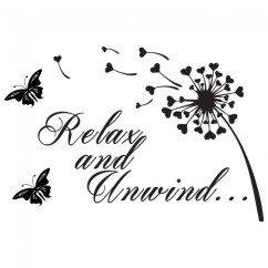 The Living Room With Sky Bar Decoration Pictures For Relax And Unwind Wall Sticker Bathroom Quote Decal ...