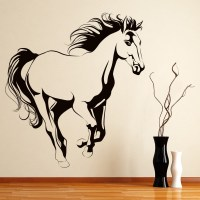 Horse Wall Sticker Animals Farm Wall Decal Girls Bedroom ...