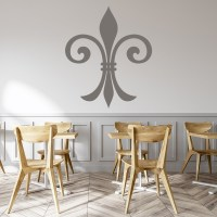 Fleur De Lis Wall Stickers Embellishment Wall Art