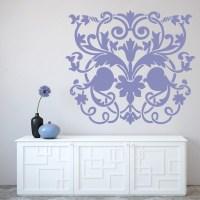 Floral Centrepiece Wall Art Sticker Wall Art Decal