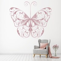 Decorative Butterfly Print Wall Art Sticker Wall Decal