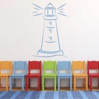 Lighthouse Wall Sticker Sea Wall Art