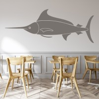 Marlin Fish Wall Sticker Animal Wall Art