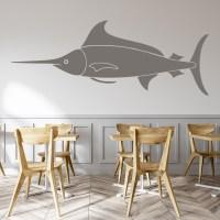 Marlin Fish Wall Sticker Animal Wall Art