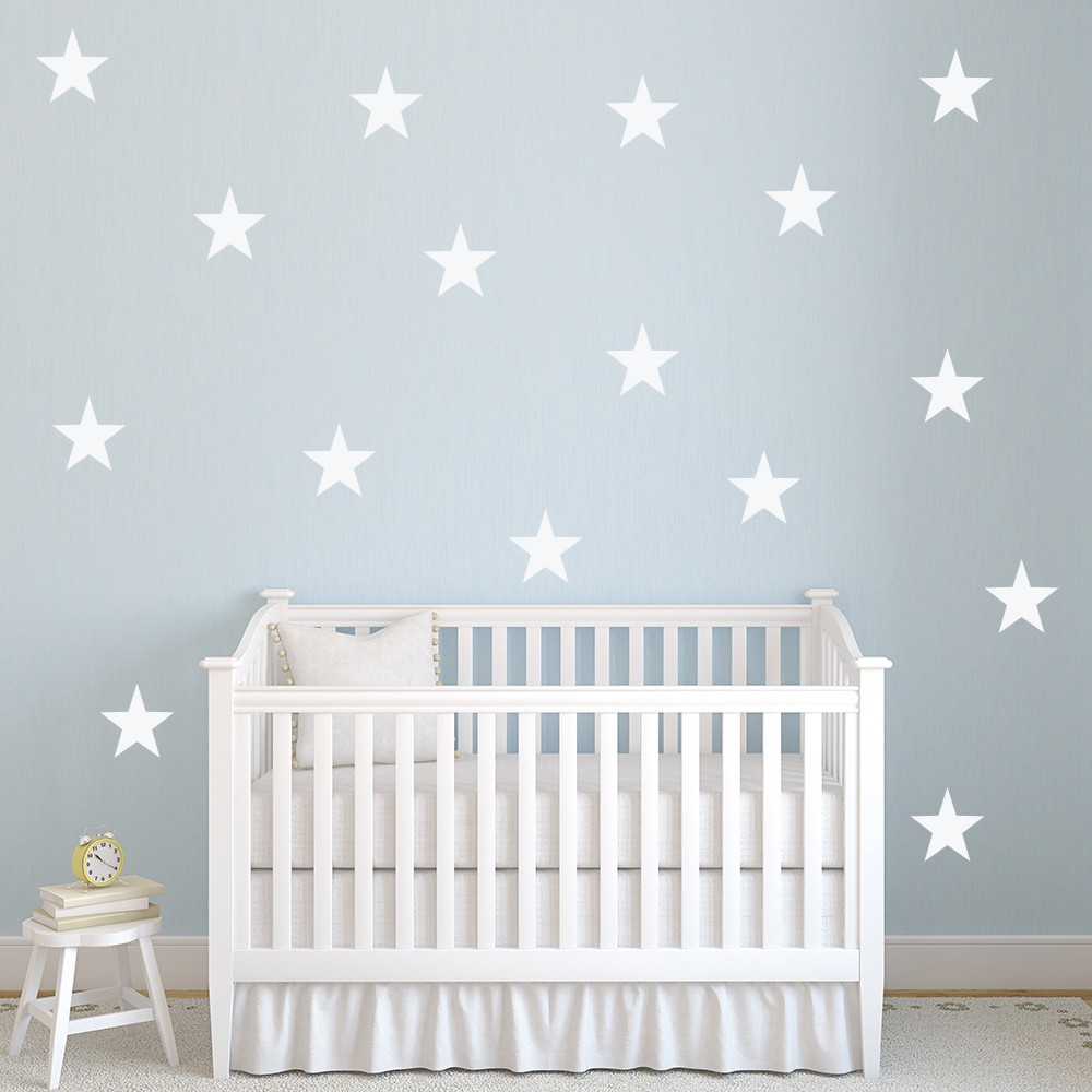Five Pointed Star Wall Sticker Creative Multi Pack Wall