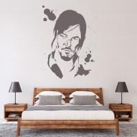 Daryl Wall Sticker The Walking Dead Wall Art