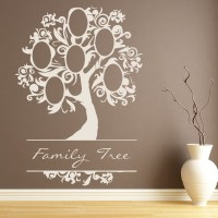 Elegant Family Tree Wall Sticker Family Wall Art