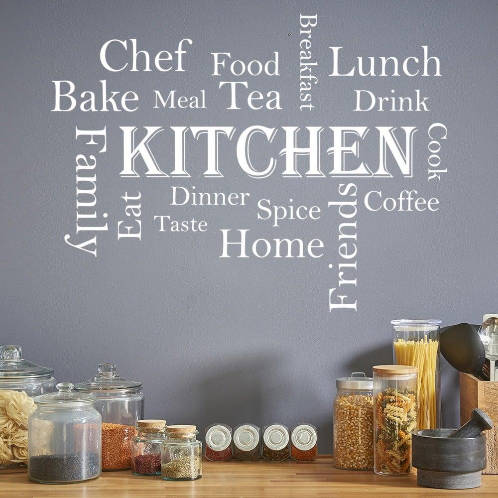 Kitchen Words Kitchen Quote Wall Sticker