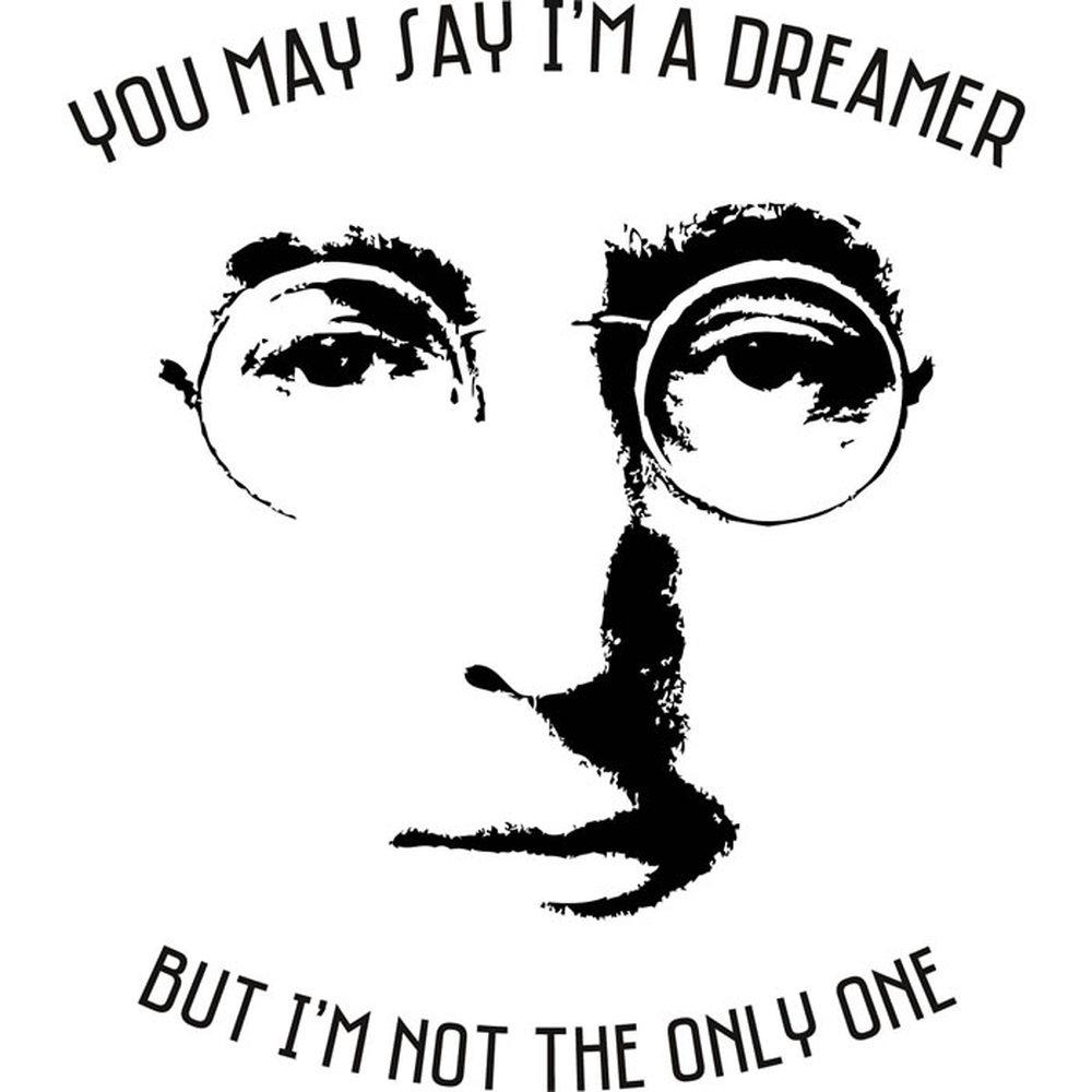 John Lennon Wall Sticker Imagine Wall Art