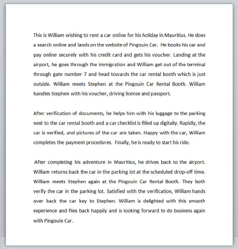 150-word script