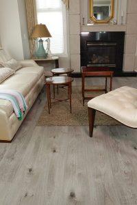 Vinyl wood plank flooring Cork - Barn Wood 16.28 sq.ft