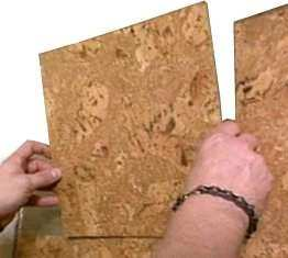 Glue Cork To Tile